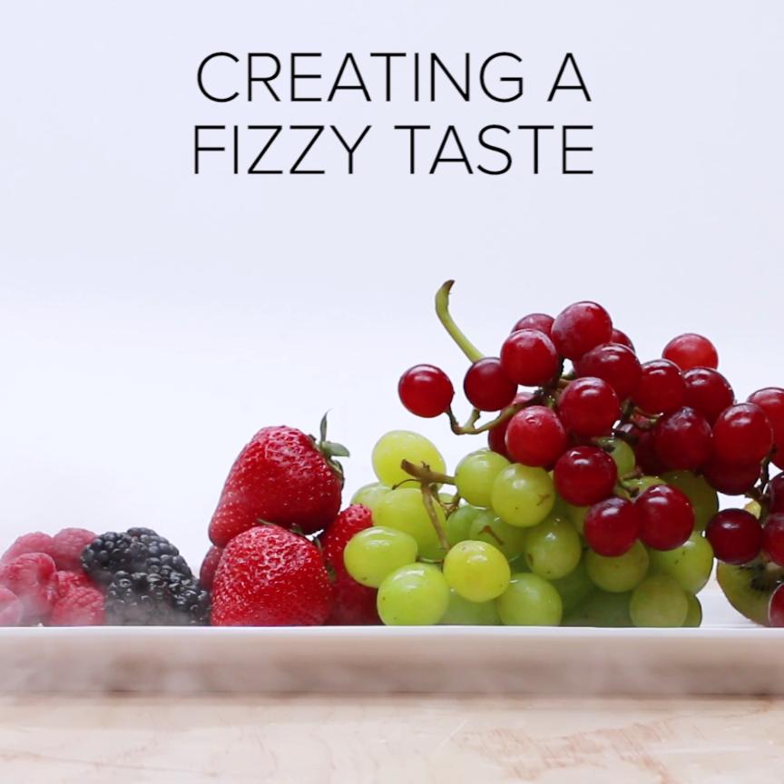 DIY Fizzy Fruit is part of Diy food - DIY Fizzy Fruit 🍎🍑🍓✨