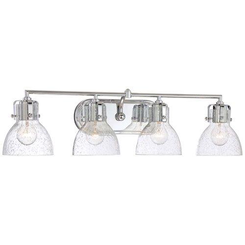 Minka Lavery Chrome 8 5 Inch Four Light Bath Fixture With
