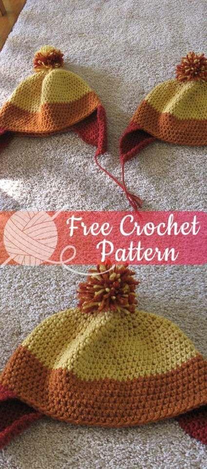 Photo of Crochet hat beginner tutorials free knitting 54 New ideas