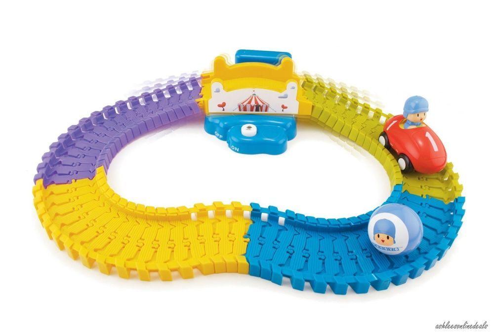 Pocoyo Train Track Toy Kids Children's Cartoon TV Boys