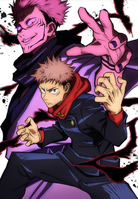 Itadori Yuuji Sukuna Jujutsu Kaisen Jujutsu Anime Jujitsu