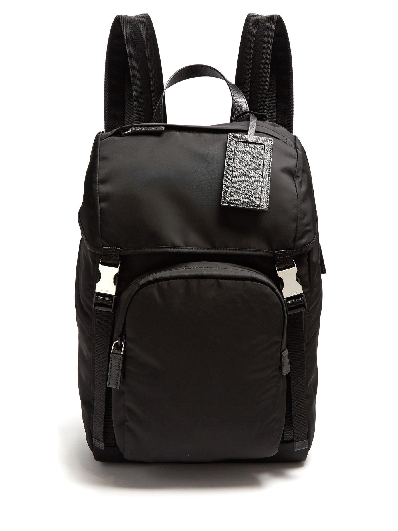 Click here to buy Prada Front-pocket nylon backpack at MATCHESFASHION.COM 958b1b09f8