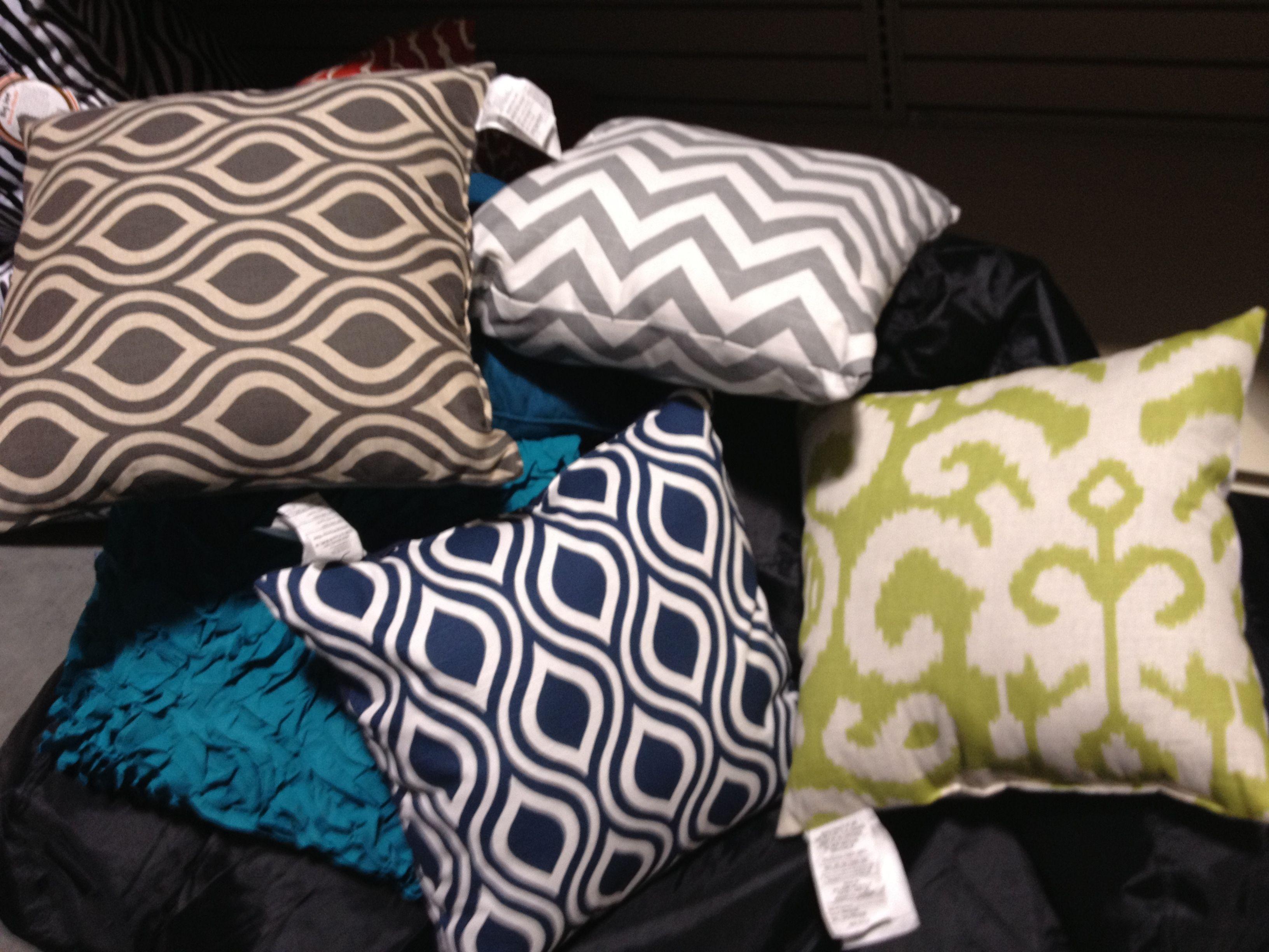 Gordmans toss pillows $13 Home Decorating