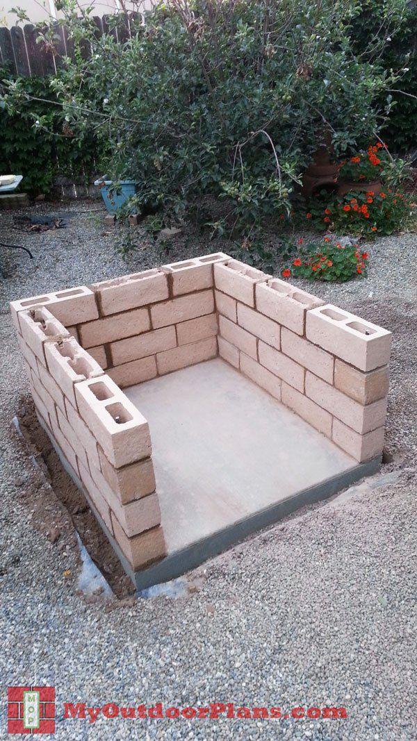 DIY Brick Pizza Oven MyOutdoorPlans Free Woodworking Plans and