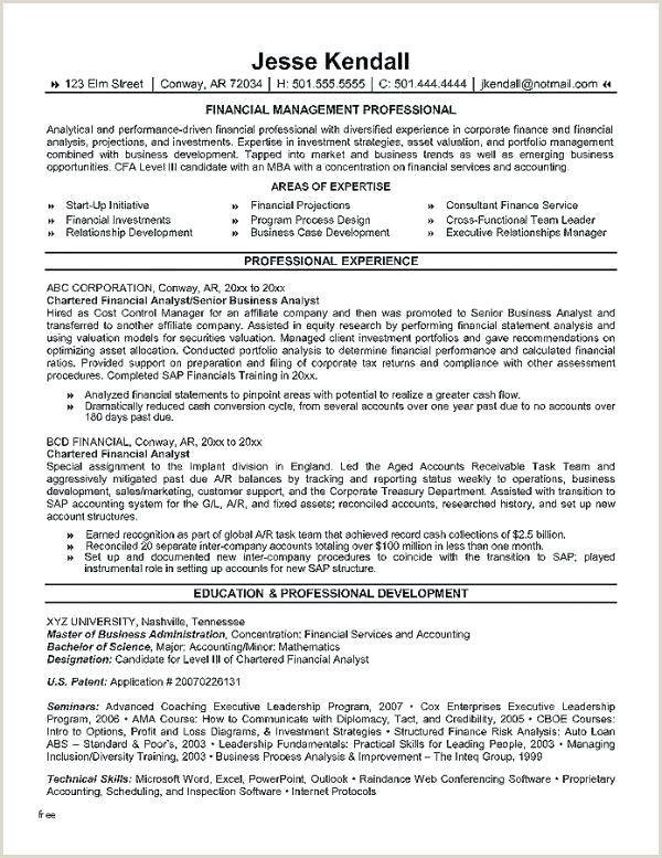 Junior Financial Analyst Resume Junior Financial Analyst