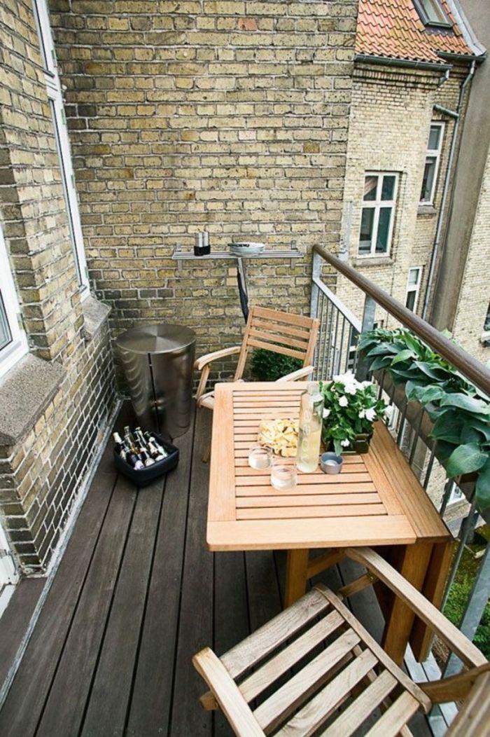 Kleiner Balkontisch für ein gemütliches Ambiente! - Archzine.net