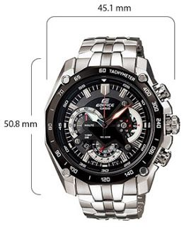 b39bcca5a Arab Mall |مول العرب : ساعات كاسيو| ساعة اديفيسي كاسيو السوداء من الفولاذ.
