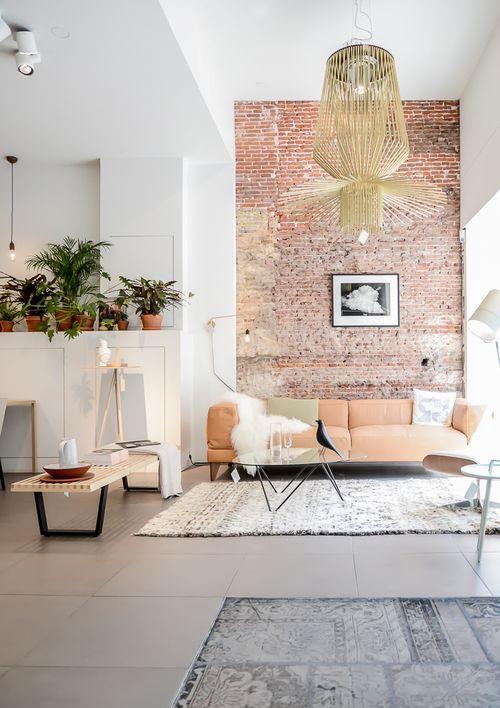 Con Estas Ideas Para Resaltar Una Pared Con Ladrillo Visto Podrás Mejorar  La Decoración De Cualquier Parte De La Casa.