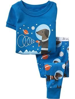17bfda2339 Space Dachshund pajamas for a baby boy   sigh ... purchased and put in the