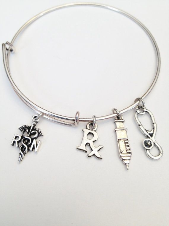 Nurse Theme Adjustable Bangle Alex And Ani By IcyCoolCreations - Alex and ani cruise ship bangle