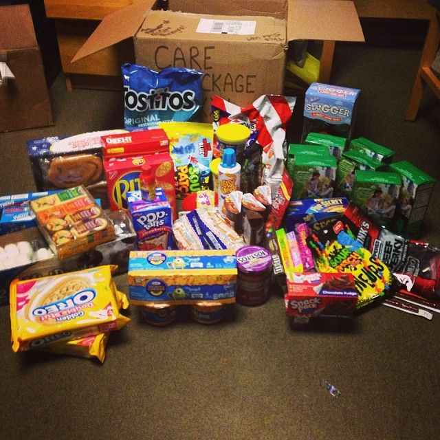 The Ultimate Guy S College Care Package College Gifts College