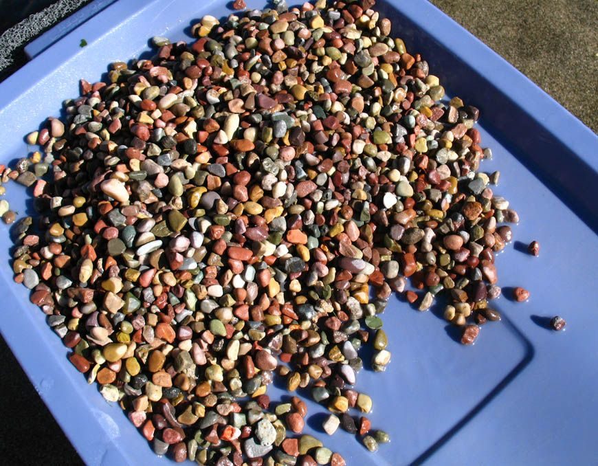 How to sand and buff polymer clay beads in a rock tumbler
