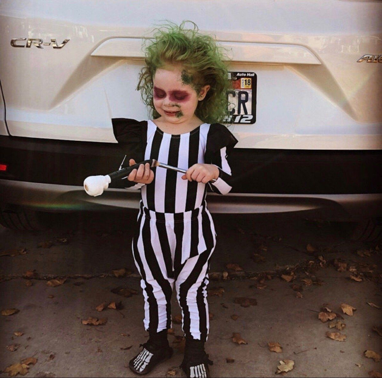 Beetlejuice Costume Black White Leotard For Girls Baby Girl Costume Toddler Girl Halloween Baby Girl Bodysuit Halloween Costume Toddler Girl