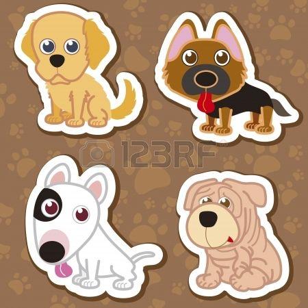 dibujos de perritos tiernos animados - Buscar con Google ...