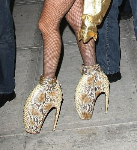 5 Memorable Lady Gaga Shoes | Believe It or Not | Lady gaga