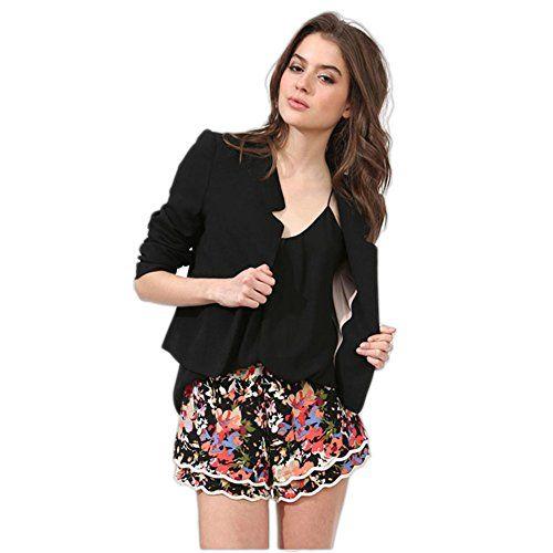 My Wonderful World Women's Notched Collar Office Blazer Small Black My Wonderful World Blazer Coat Jacket http://www.amazon.com/dp/B013XZOSA6/ref=cm_sw_r_pi_dp_xgcxwb0J8S148