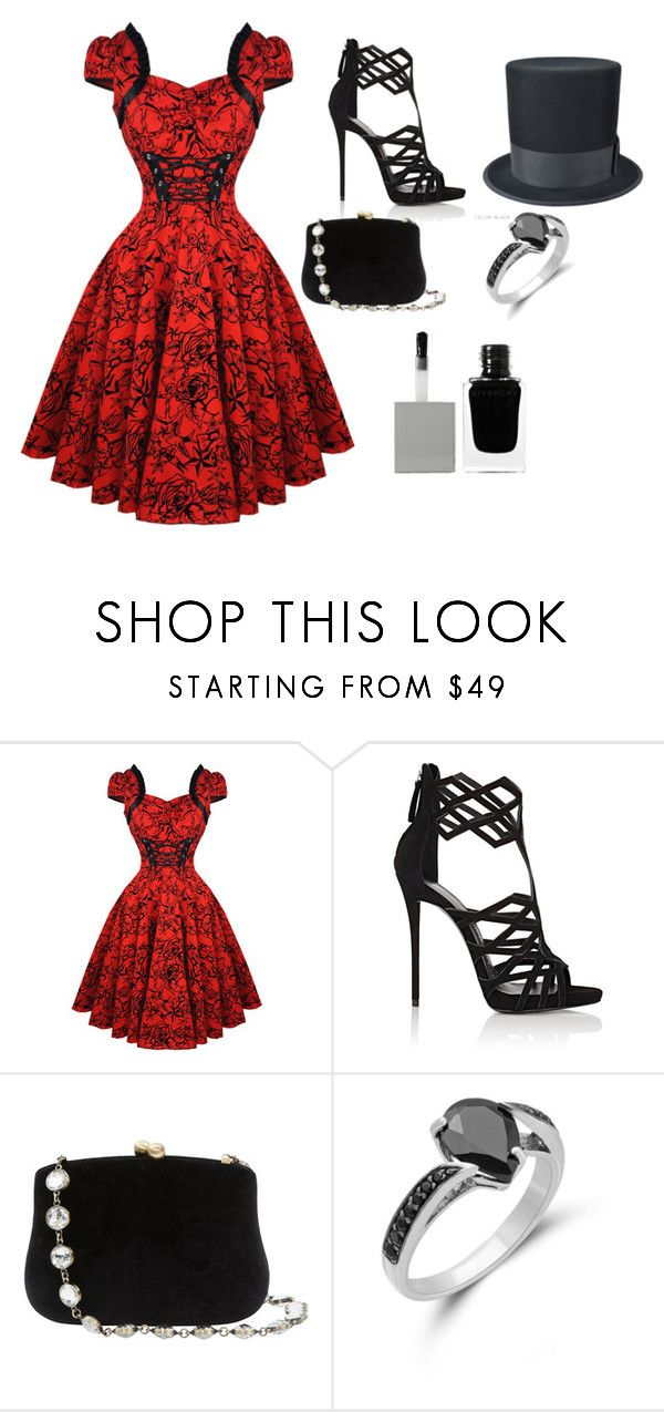 """""""I'm ironic not idiotic"""" by a-person-on-ployvore ❤ liked on Polyvore featuring Giuseppe Zanotti, Serpui and Givenchy"""