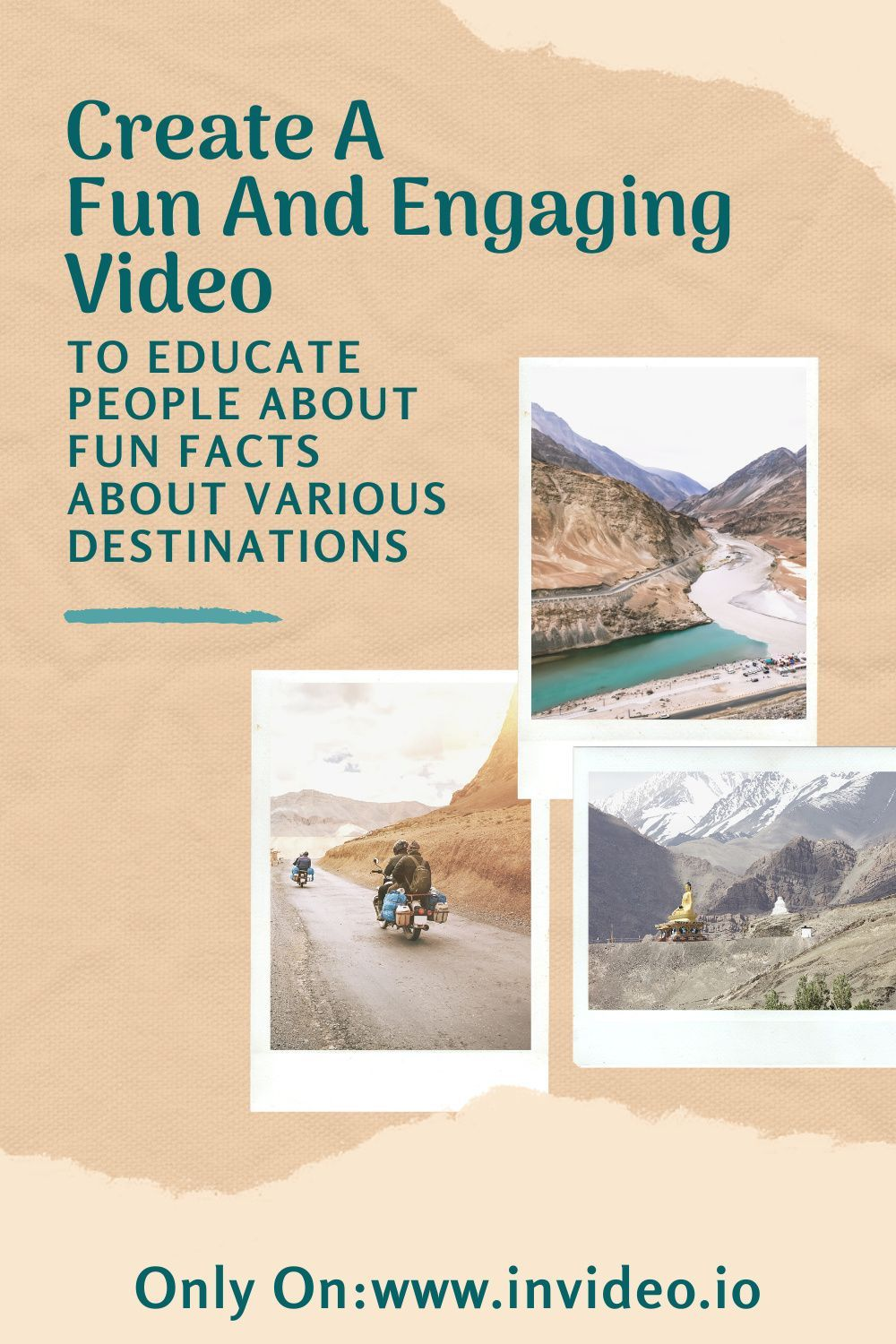 Video Template Tourism 101 Slideshow In 2021 Pinterest Video Video Online Video Template