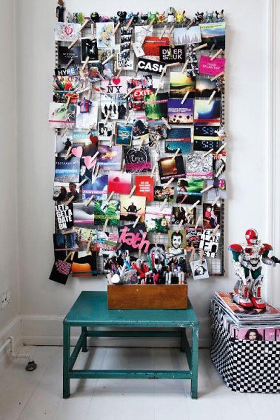 Paredes decoradas con fotos - SarisfashionSarisfashion | mi cuarto ...