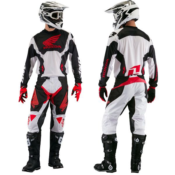 tenue complete motocross one industries honda atom 2014. Black Bedroom Furniture Sets. Home Design Ideas