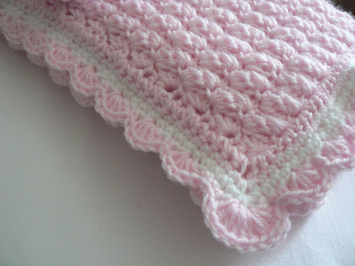 Crochet Pattern Baby Blanket Angel Wings Stitch Easy Crochet Pattern