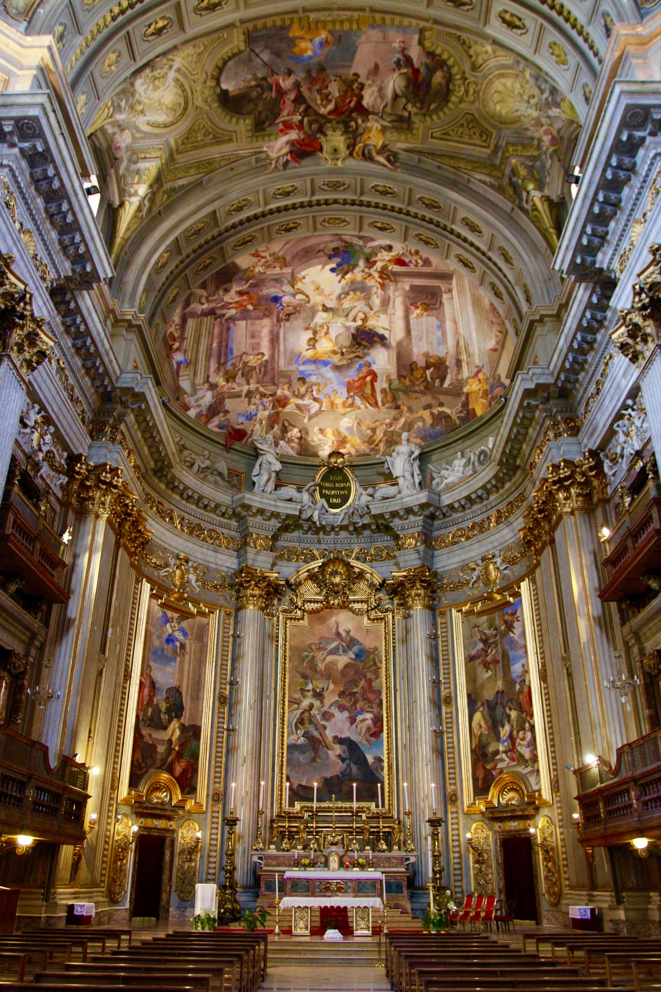 cathedral interior in italy | Church interior, Rome Italy | notesfromcamelidcountry