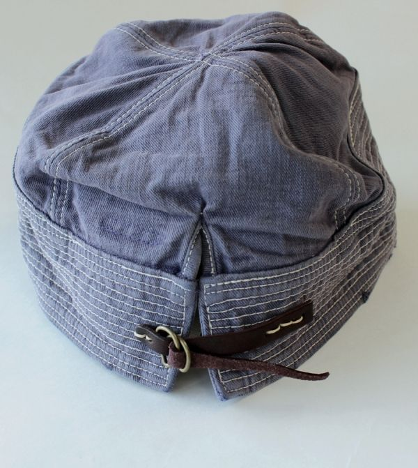 The Old Man and the Sea Cap by  Kapital  Japan Long John blog jeans denim  vintage selvage japan footwear fisherman authentic projects fashion  lifestyle ... 0954b9548e4d
