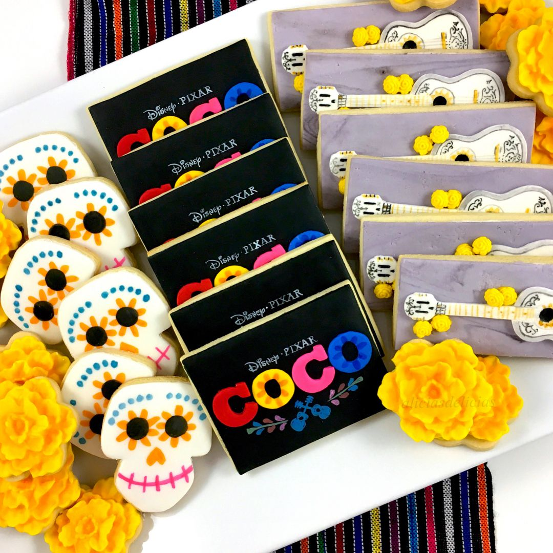 10 pcs Disney COCO PIXAR Self-inking Stamps Stampers Pencil Topper Authentic Disney Licensed