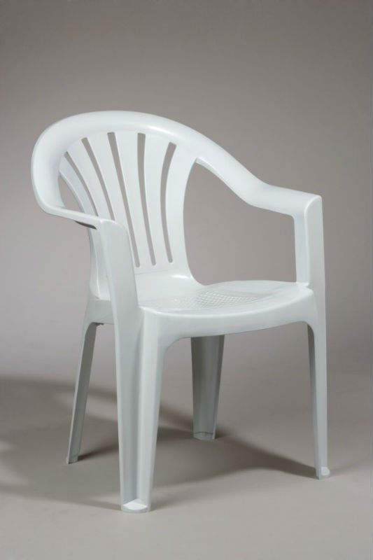 White plastic garden chairs google search shamas for Plastic garden furniture