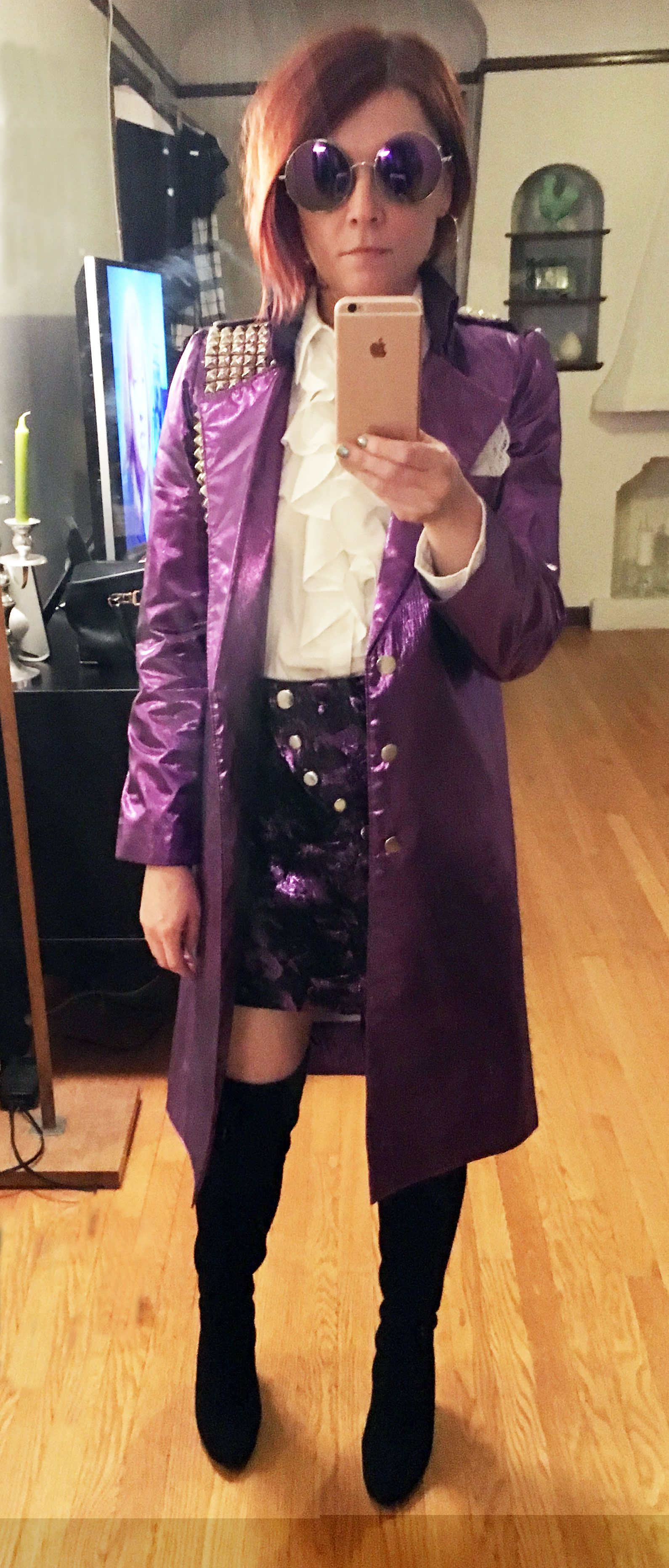 "Will It Rain On Halloween 2020 A Prince ""Purple Rain"" Costume for Emily (With images) 