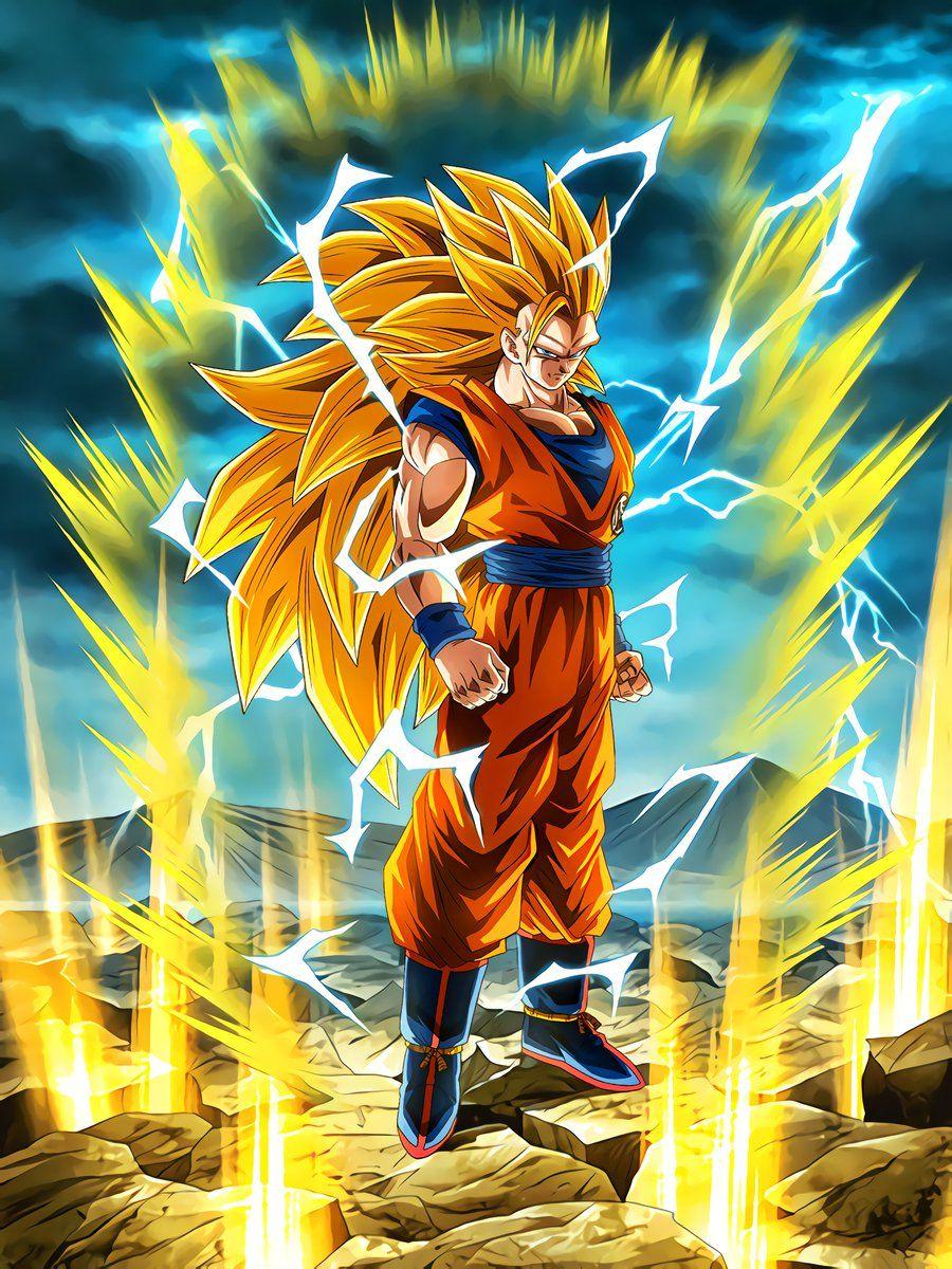 Boiling Power Super Saiyan Goku Dragon Ball Z Dokkan Battle Wikia Fandom Powered B Dragon Ball Super Artwork Anime Dragon Ball Super Dragon Ball Super Goku