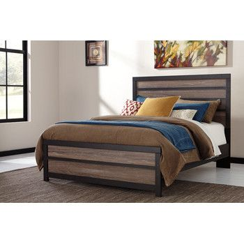 Harlinton Queen Panel Bed By Signature Design By Ashley. Get Your Harlinton  Queen Panel Bed At Furniture Factory Outlet, Warsaw IN Furniture Store.