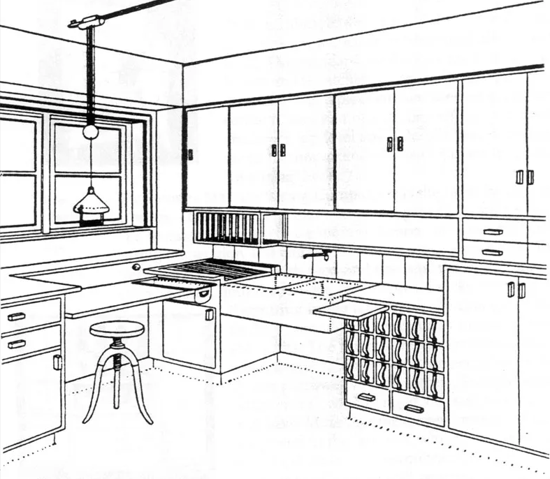 This 100Yearold Kitchen Design Looks Better Than Ever  Kitchen Captivating Kitchen Design Drawings Design Decoration