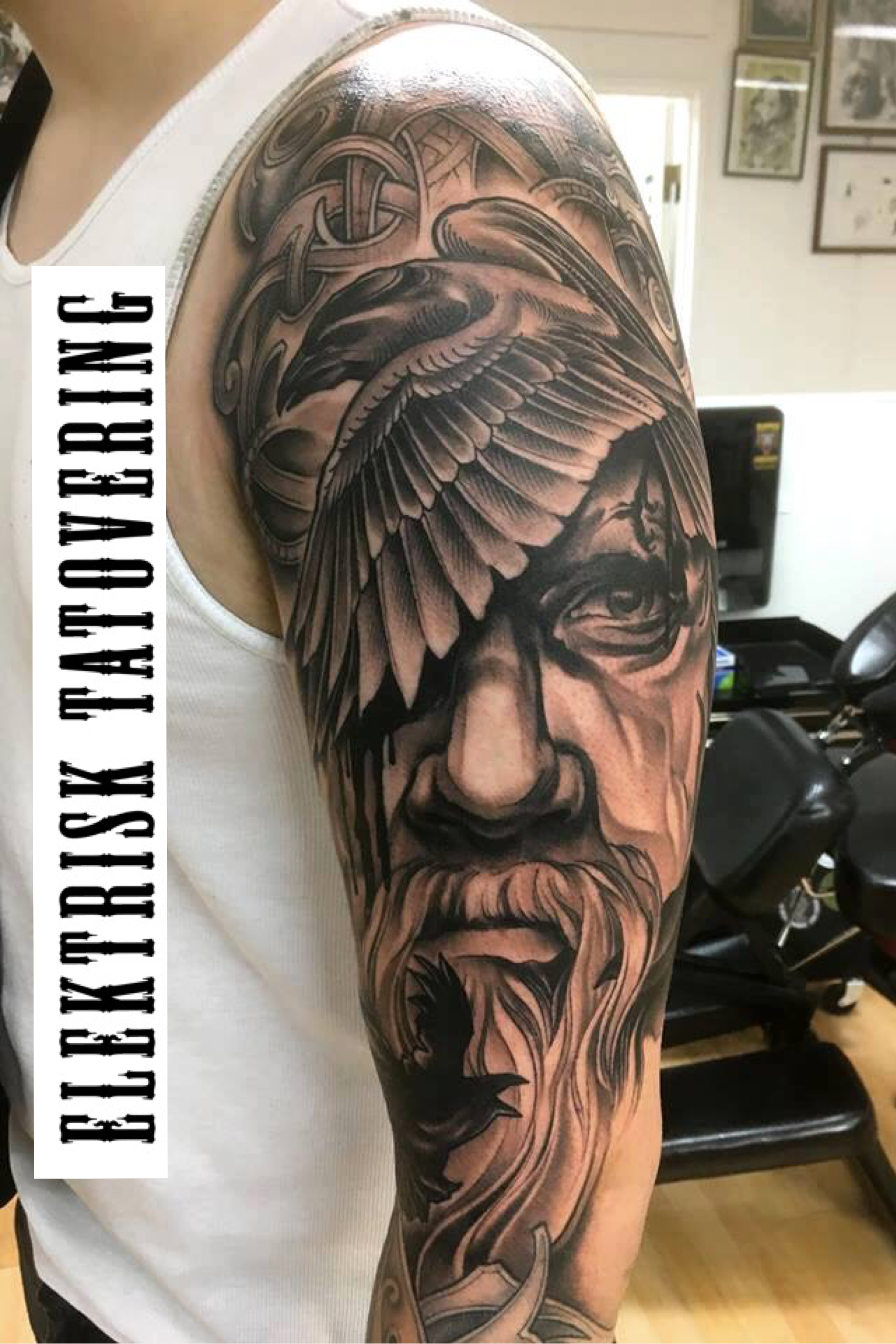 Odin Tattoos: Viking Tattoos, Tattoos, War Tattoo