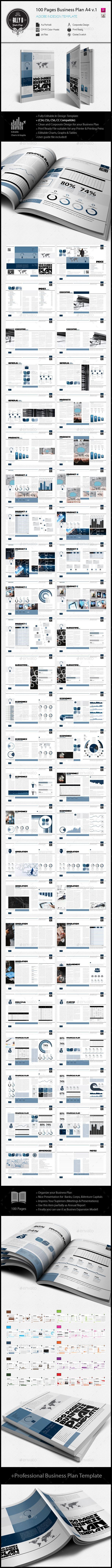Pages Business Plan Template A V Business Planning A - Business plan template indesign