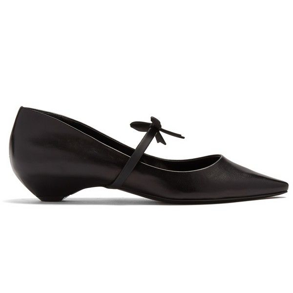 Fabrizio Viti Leather Ballet Flats