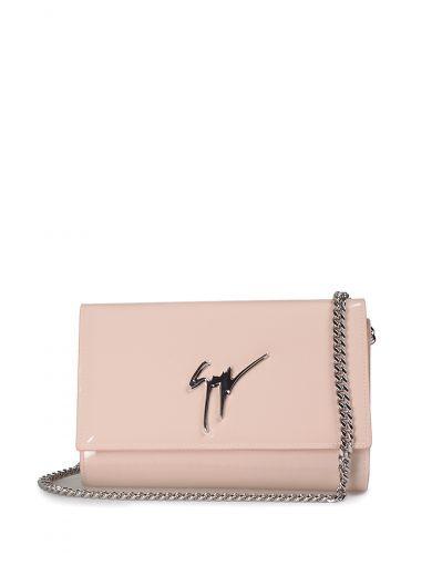 d26b15782381 GIUSEPPE ZANOTTI Giuseppe Zanotti Lory Patent-Leather Clutch Bag ...