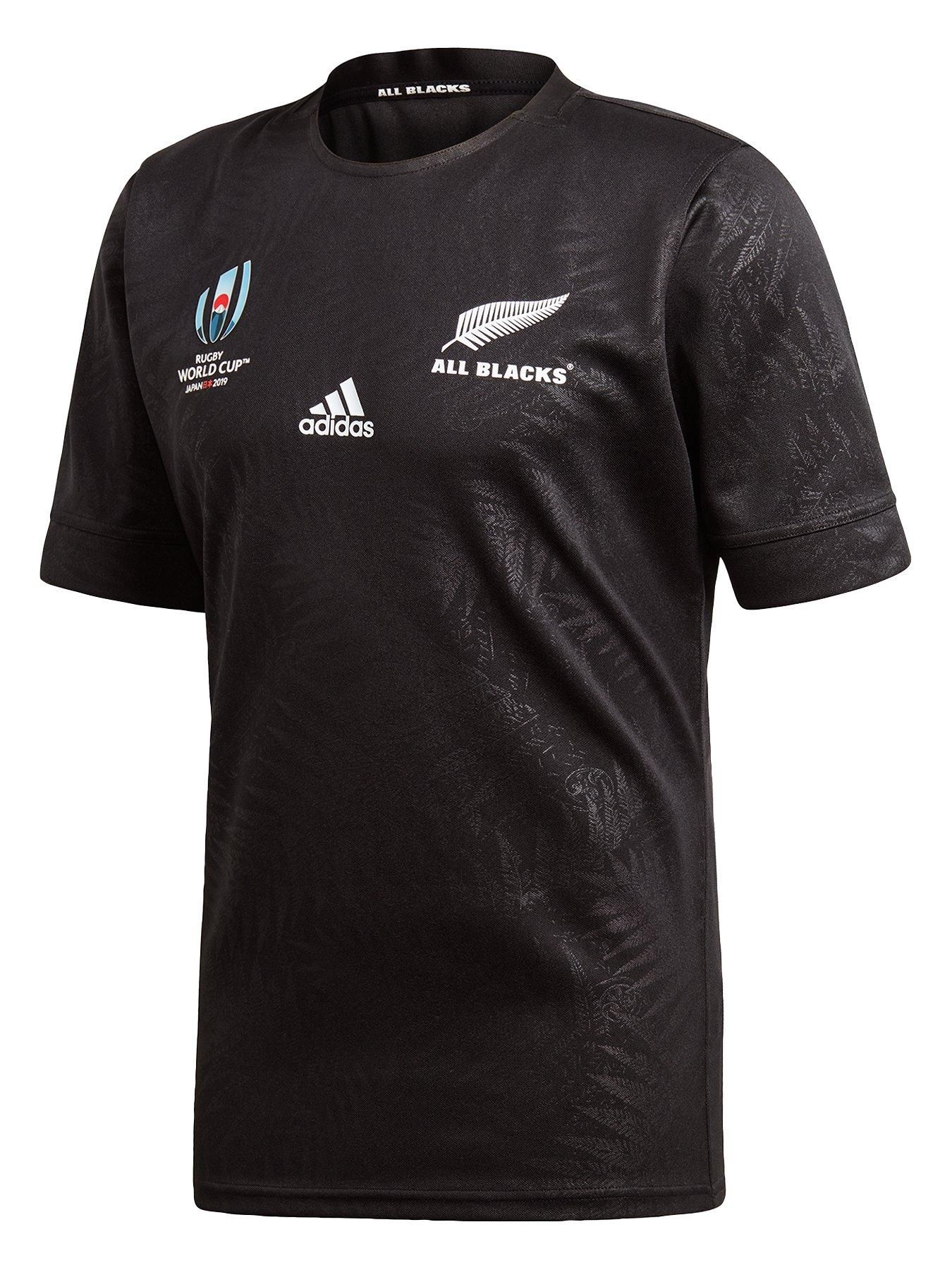 Adidas All Blacks Rugby World Cup Home Jersey Black