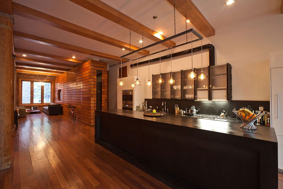 Kitchen Lighting Loft In Noho New York City Kitchens