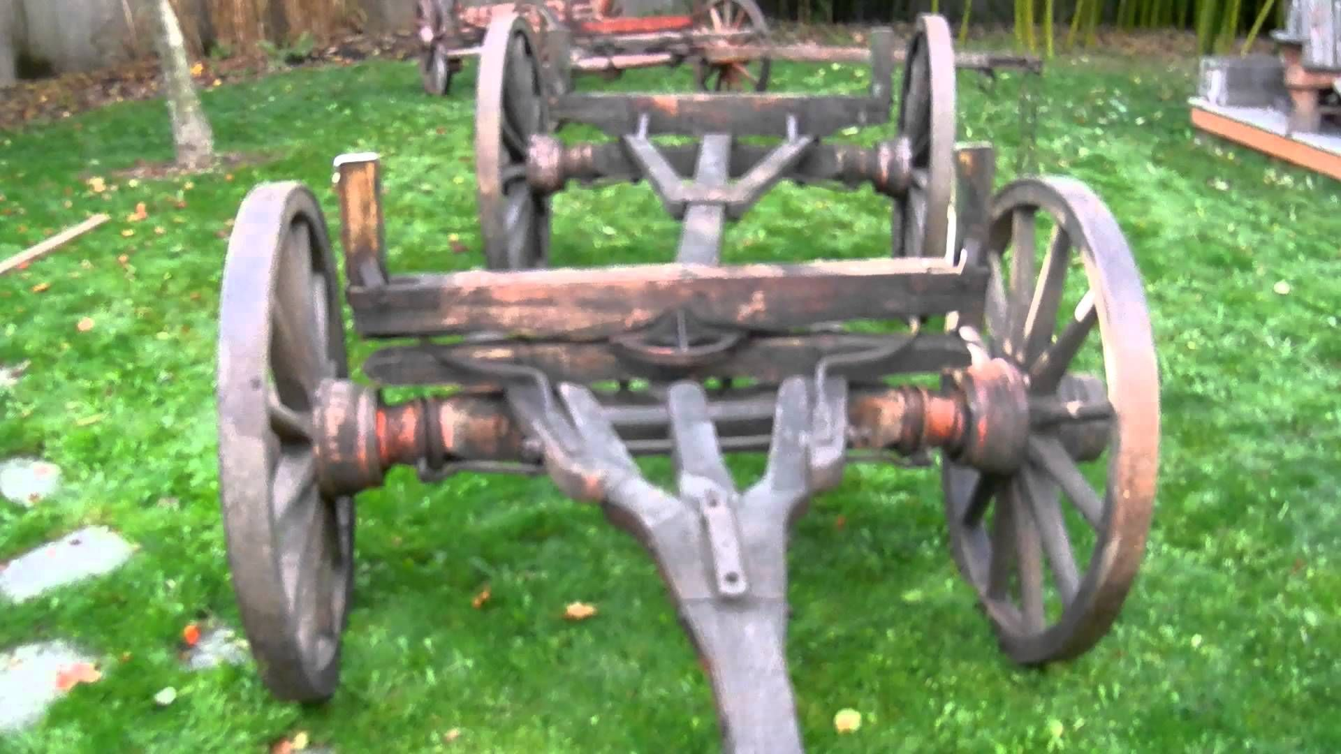 Old Western Wagons - Running Gear for Sale for a Sheepwagon