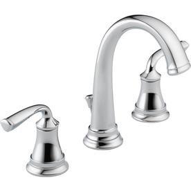 Delta Lorain Chrome 2 Handle Widespread Bathroom Sink Faucet 35716lf Eco
