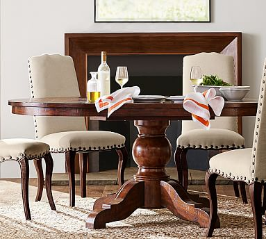 Sumner Extending Pedestal Dining Table 48 72 L Sierra Light