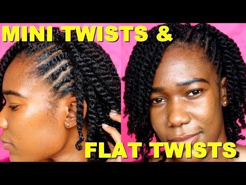 Mini Twists On Short Medium Length Natural Hair Jah Nette Youtube Natural Hair Styles Natural Hair Twists Short Natural Hair Styles