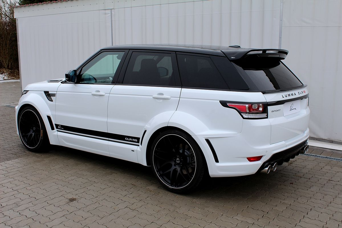 Range Rover Sport 2014 On Lumma Clr Rs Lumma Design Pinterest