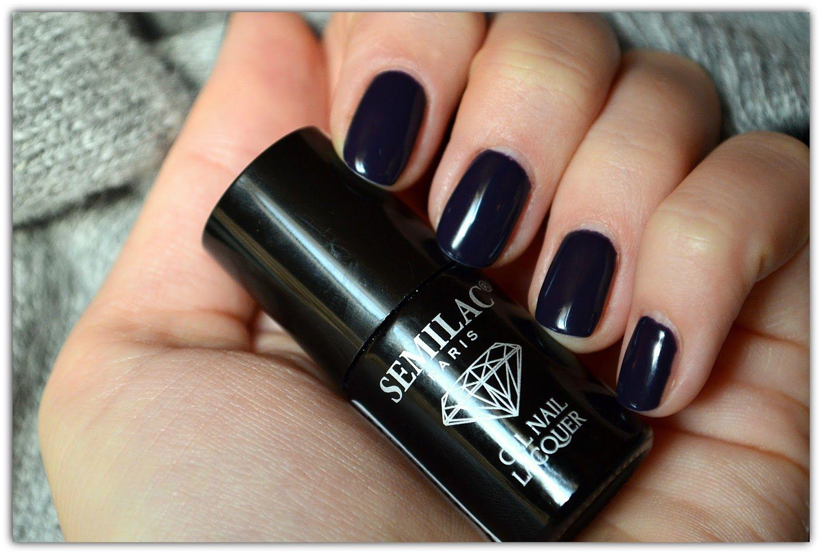 semilac black plum 089 | Semilac | Pinterest