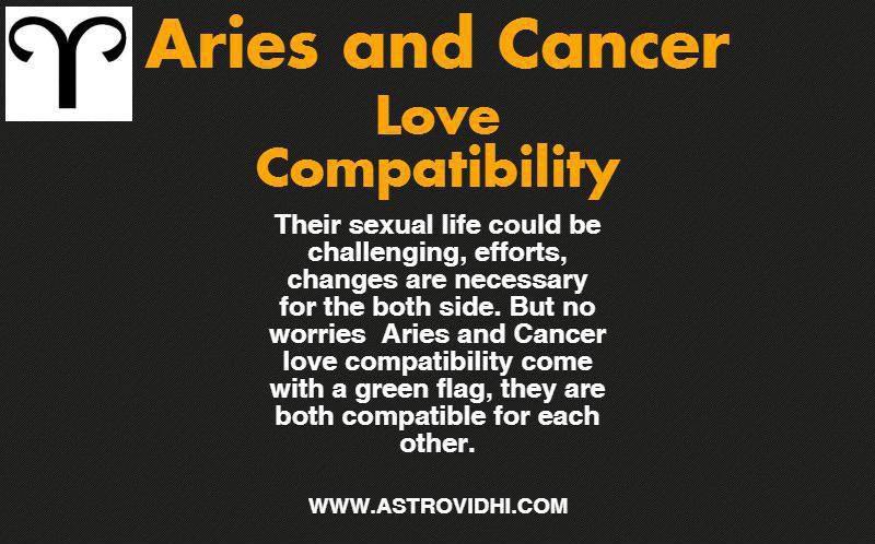 Aries & Cancer Love Compatibility - know love