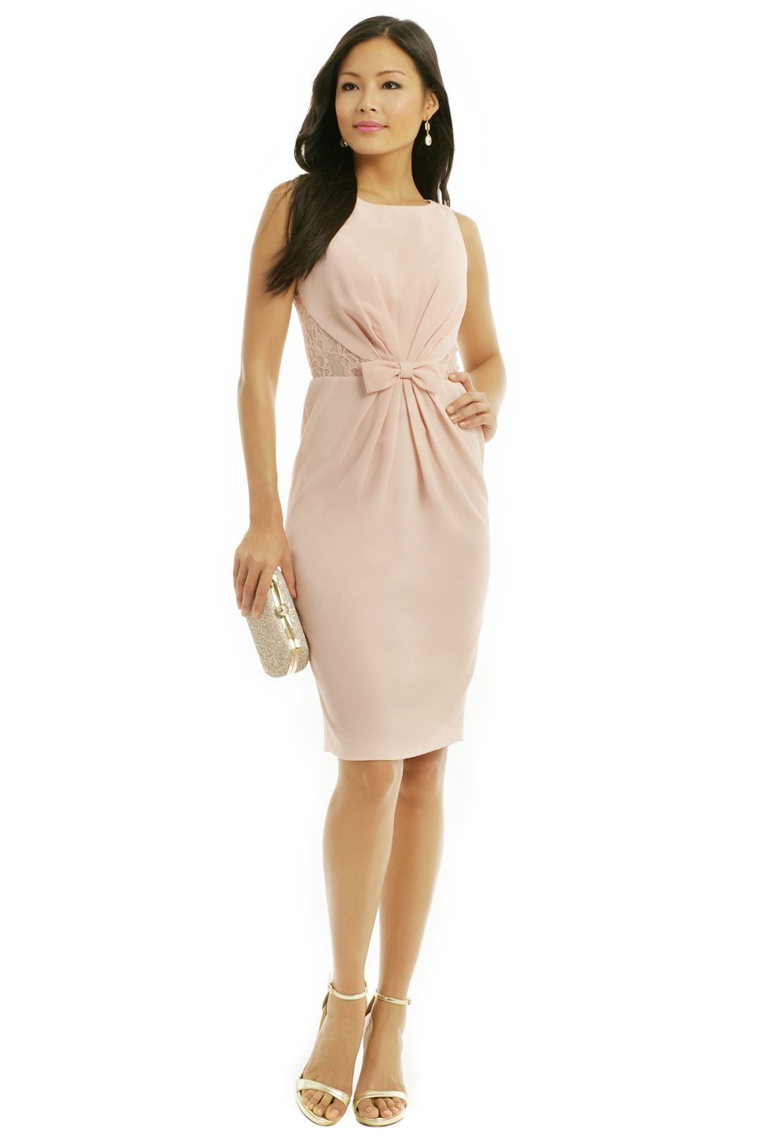 Rent he makes me blush dress by badgley mischka for 55 only at badgley mischka he makes me blush dress pale blush pink bridesmaid dress ombrellifo Gallery