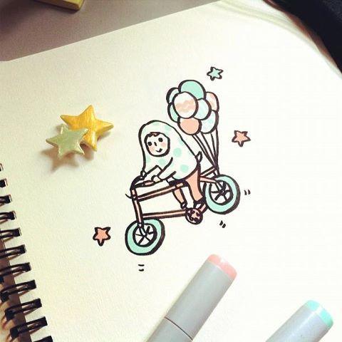 Balloon Bicycle