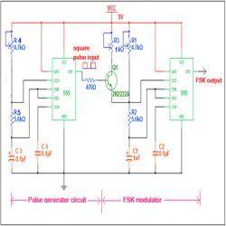 fsk modulator using ic 555 circuit diagram larsen nerd labfsk modulator using ic 555 circuit diagram