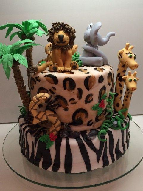 Torteundmehr At Safari Kuchen Kuchen Ideen Motivtorten
